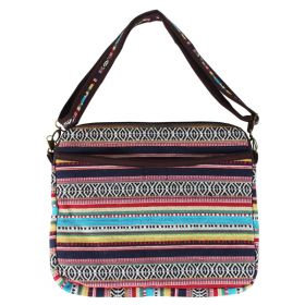 Woven Laptop Bag - Multicoloured