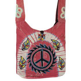 Nepalese Shoulder Bags - Peace Wheel