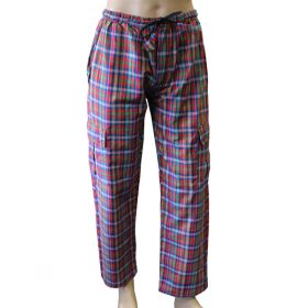 Edoras Chequered Combat Trousers - Large