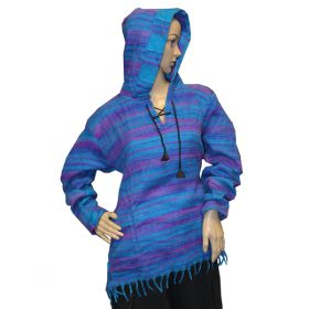 Super Soft Pirate Hoodies - Blue/Purple