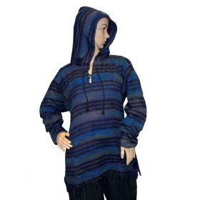 Super Soft Pirate Hoodies - Dark Blue