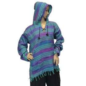 Super Soft Pirate Hoodies - Turquoise/Purple
