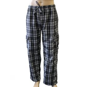 Neo Chequered Flannel Combat Trousers - XL