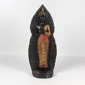 Standing Thai Budha 30cm - Red/Gold