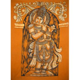 Krishna Batik Large - Orange
