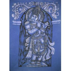 Krishna Batik Large - Blue