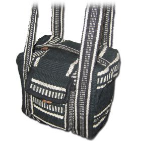 Free Spirit Bag - Black and White, Small