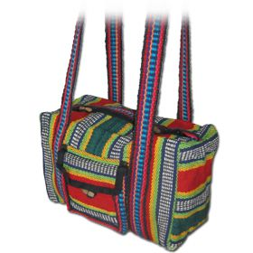 Free Spirit Bag - Red & Green, Small