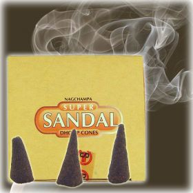 Dhoop Cone Incense - Sandal