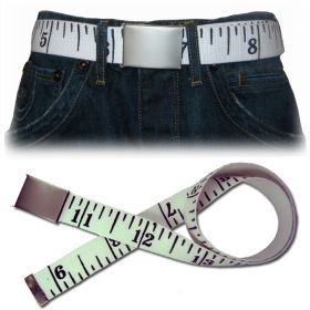 Inches Belt - White