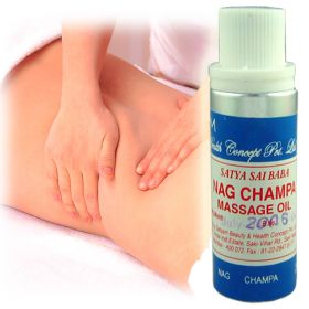 Nag Champa Massage Oil