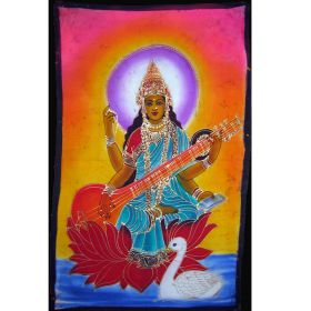 Batik - Saraswati on Lotus 2