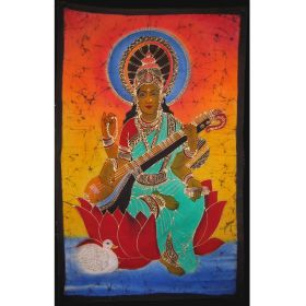 Batik - Saraswati on Lotus 1