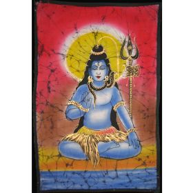 Batik - Shiva In Lotus