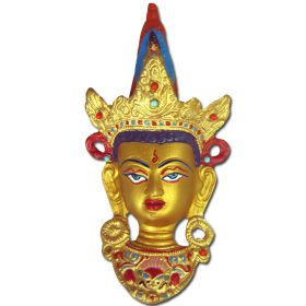 Buddha Gold Head Wall Hanging