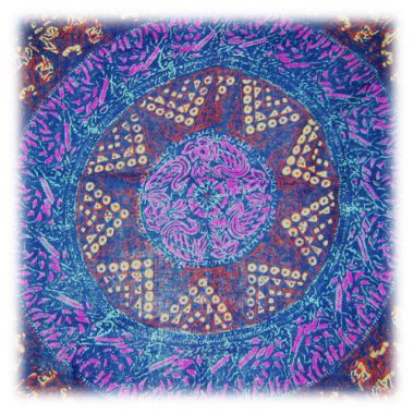 Single Block Printed Indian Mandala Bedspreads